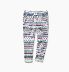 Tea Collection Tea Printed Knit Baby Pant
