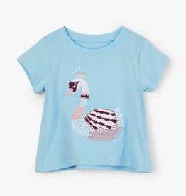 Hatley Hatley Princess Swan Baby Tee