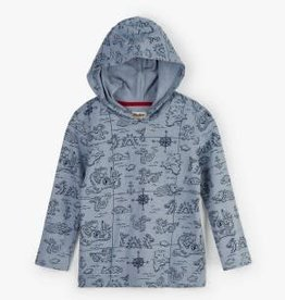Hatley Hatley Sea Monsters Hooded Tee