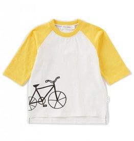 Miles Baby Miles Baby Bike Tee w/Yellow - Baby