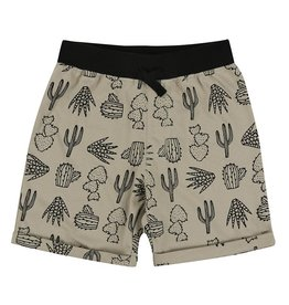 Turtledove London Turtledove London Easy Fit Shorts Cactus Print