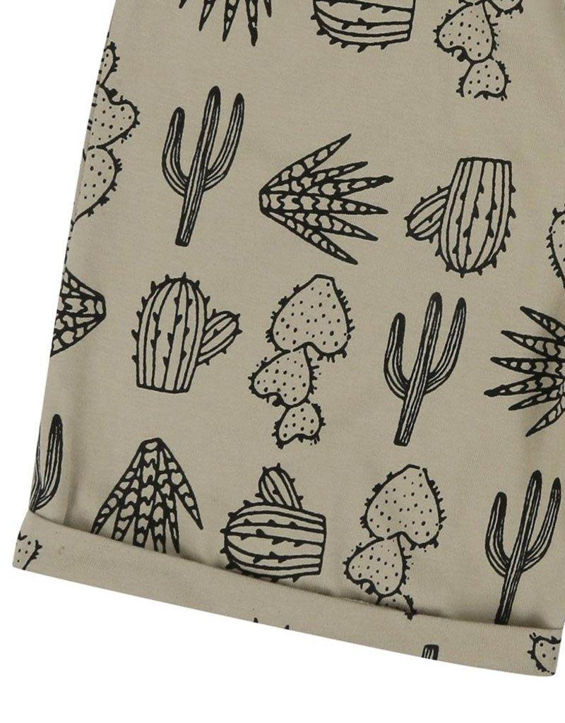 Turtledove London Turtledove London Easy Fit Shorts Cactus Print