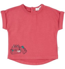 Miles Baby Miles Baby Red Farmers Market Tee - Baby