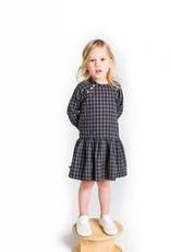 Chaboukie Button Dress in Check