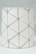 Kreatelier Lamp shade Tapered Geometric in Light Blue