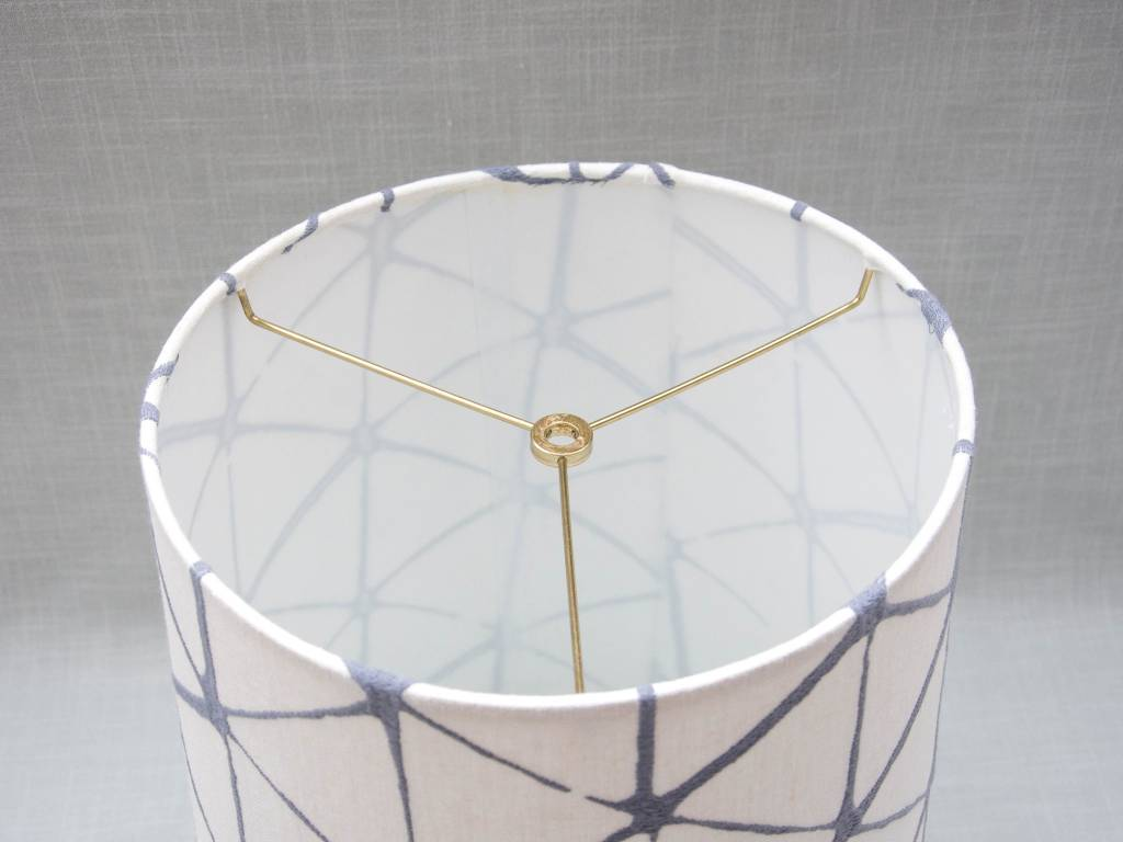 Kreatelier Lamp shade Tapered Geometric in Grey