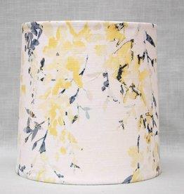 Kreatelier Lamp shade Tapered Watercolor Flowers