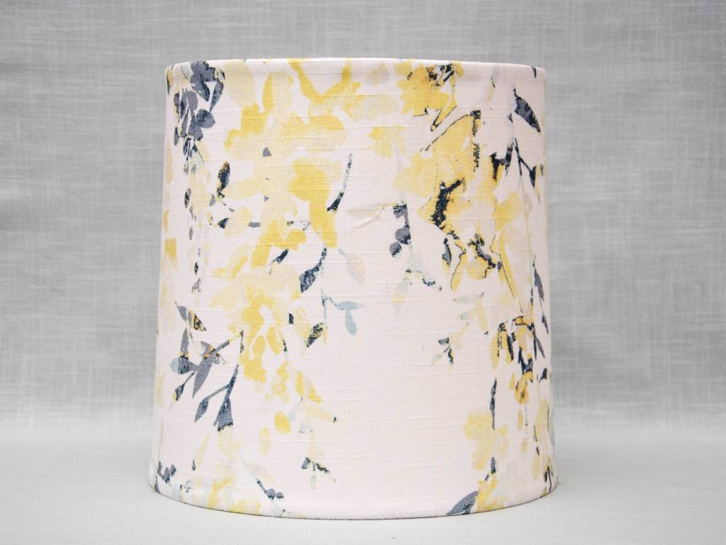 Kreatelier Lamp shade Tapered Watercolor Flowers