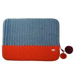 Verloop Crosshatch Laptop Case Navy