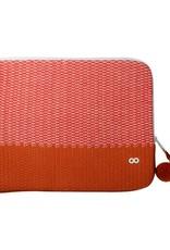 Verloop Crosshatch Laptop Case Red