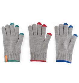 Verloop Pair and Spare Touchscreen Gloves in Grey