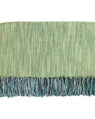 Bedford Cottage Zephyr Faux Mohair Throw Pear