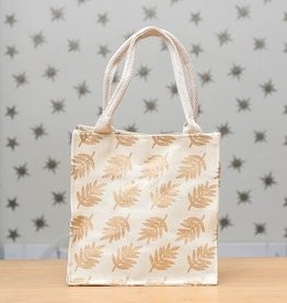 Rockflowerpaper Itsy Bitsy Bag Leaves Gold