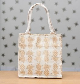 Rockflowerpaper Itsy Bitsy Bag Pineapple Gold