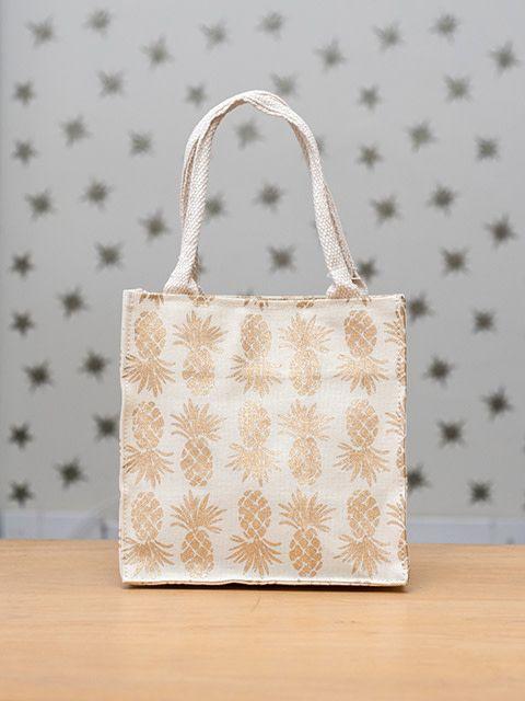 Itsy Bitsy Bag Pineapple Gold Kreatelier