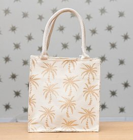 Rockflowerpaper Itsy Bitsy Bag Palm Trees Gold