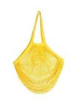 Kikkerland Cotton Market Bag Yellow