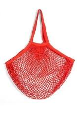 Kikkerland Cotton Market Bag Red
