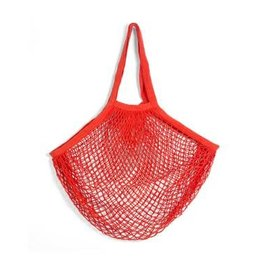 Kikkerland Cotton Market Bag Red