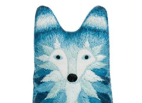 Kiriki Press DIY Embroidered Doll Kit Wolf