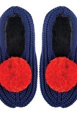 Verloop Pommed Rib Loungers Blue