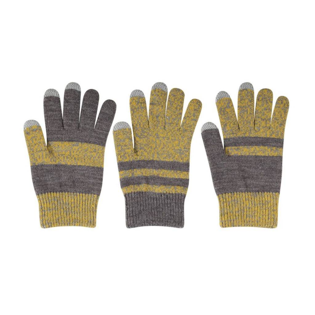 Verloop Pair and Spare Touchscreen Gloves in Yellow