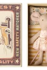 Maileg Mouse Little Sister Polka Dots Skirt in Box
