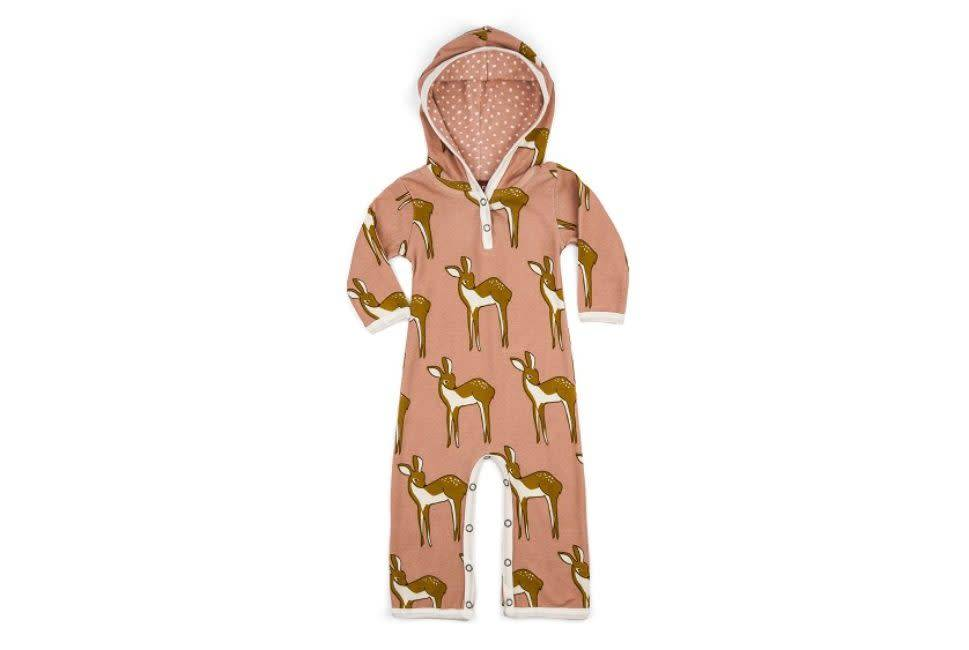 Milkbarn Hooded Romper Doe