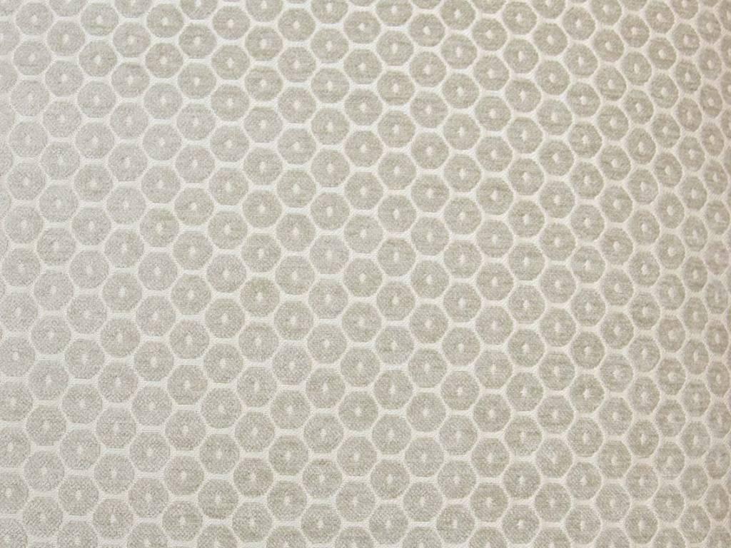 Kreatelier Honey Comb Velvet Pillow in Grey - 18 x 18in
