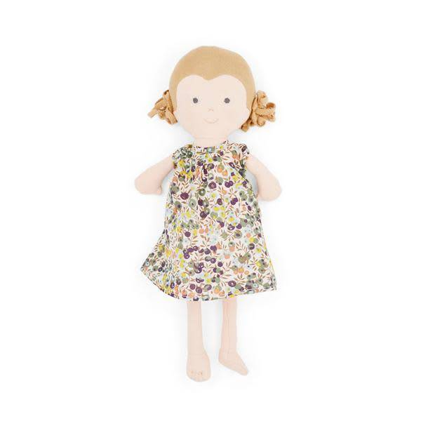 Hazel Village Doll Fern in Tea Party Dress