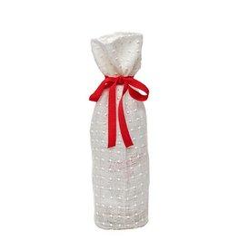 Kreatelier Bottle Gift Bag White