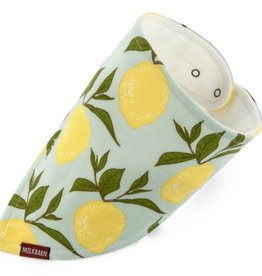 Milkbarn Kerchief Bib in Lemon