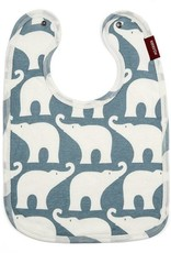 Milkbarn Bib in Blue Elephant