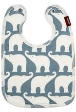 Milkbarn Organic Bib Blue Elephant