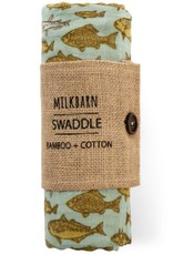 Milkbarn Bamboo Swaddle Fish