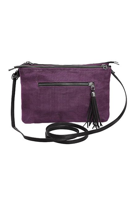 Helping Hand Partners Nearby Shoulder Bag Bordeaux