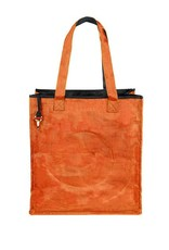 Helping Hand Partners Shopper Tote Persimmon