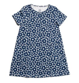 Winter Water Factory Helsinki Dress Marrakesh Floral Blue