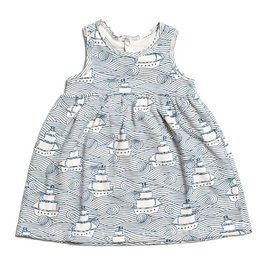 Winter Water Factory Oslo Baby Dress High Seas Navy