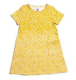 Winter Water Factory Helsinki Dress Marrakesh Floral Yellow