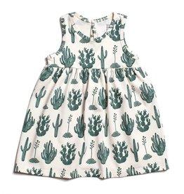 Winter Water Factory Oslo Baby Dress Cactus Green