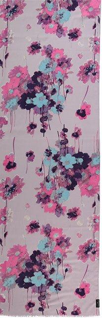 Fraas Painted Floral Scarf Lavender