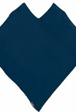 Fraas Triangle Ribbed Poncho Navy