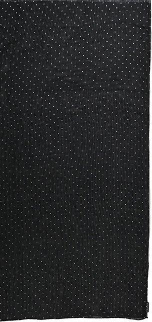 Fraas Metallic Dots Scarf Black