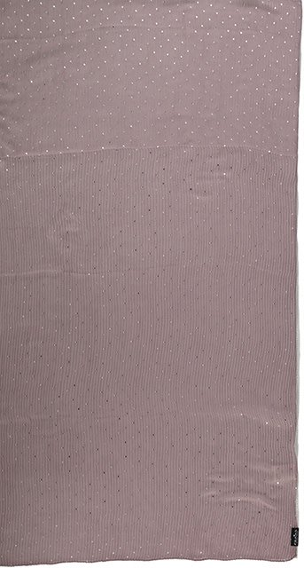 Fraas Metallic Dots Scarf Taupe