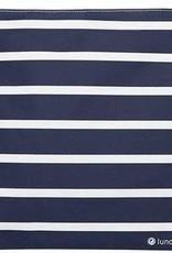 3greenmoms Reusable Gallon Bag Blue Stripe (Zippered)