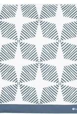 3greenmoms Reusable Gallon Bag Blue Geometric (Zippered)