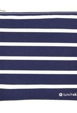 3greenmoms Reusable Sandwich Bag Blue stripe (Zippered)
