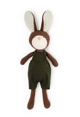 Hazel Village Stuffed Animal Lucas Rabbit in Overalls