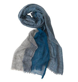 Pokoloko Tri Colour Scarf Denim